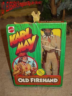 Big Jim - Karl May - Old Firehand / Old Kentuck with original box! Western