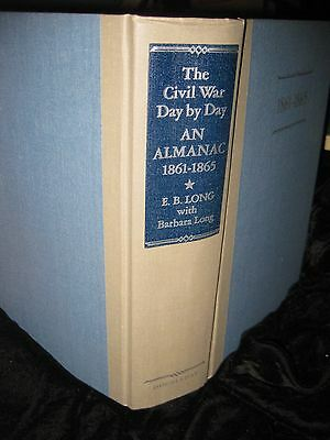 The Civil War Day by Day: An Almanac, 1861-1865 hardback 1100 pages