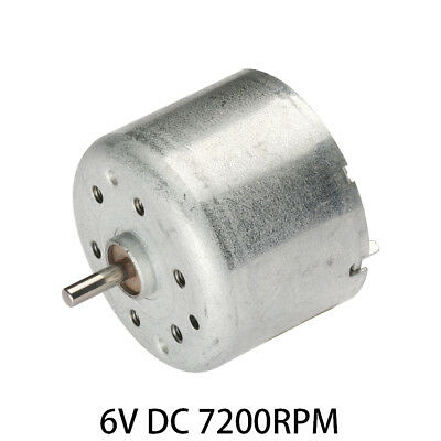 DC 6V 7200RPM Micro Gear Box Motor Speed Reduct Gearbox Eccentric Output Shaft