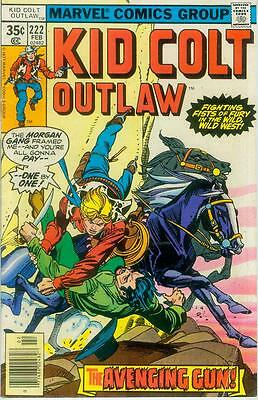 Kid Colt Outlaw # 222 (reprints) (USA,1978)