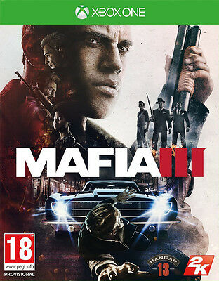 Mafia III 3 (Xbox One)  BRAND NEW AND SEALED - IMPORT - QUICK DISPATCH