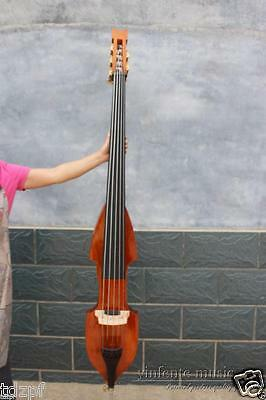 5 string 3/4 electric Upright Double bass Powerful Sound Solid wood #1438