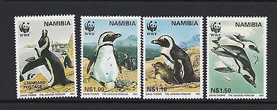 NAMIBIA 1997 Jackass Penguins MNH SG 713-6 Birds