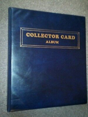 Empty Trading Collector Card  Binder / Album - With 20 Sleeves To Hold 180 Cards