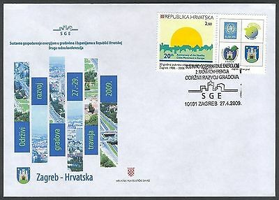 Croatia, 2009, Conference about Energy Management, special postmark & cover