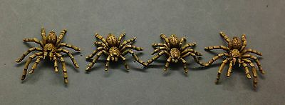 Giant Baboon Spiders (4) 28mm Dark Fable Miniatures (Unpainted)