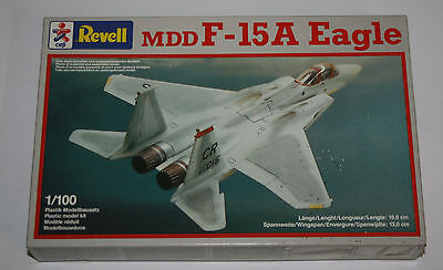 Revell - 4029 - 1:100 -MDD F - 15A Eagle - 19,6 * 13,0 cm - alter Bausatz-in OVP