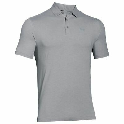 Under Armour 2017 Charged Cotton® Scramble Performance Mens Golf Polo Shirt