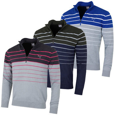 Puma Golf Mens 1/4 Zip Sweater 571427 Performance Tech Pullover 42% OFF RRP