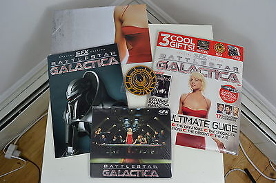 Battlestar Galactica Sfx Special Edition Pack 2009 Published New Unused