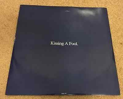 """GEORGE MICHAEL Kissing A Fool 1988 UK 12"""" Vinyl Single EXCELLENT CONDITION"""