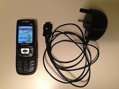 Samsung SGH D500 Black (O2) Mobile Phone + Charger