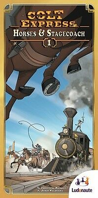 Colt Express Board Game: Horses And Stagecoach Expansion