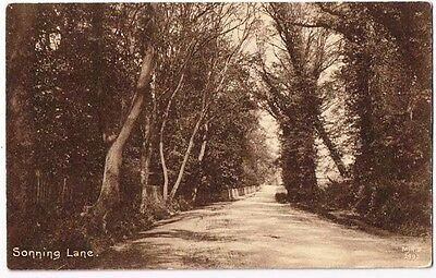 Reading Berkshire England Postcard Sonning Lane Woods Road To Cricket Court