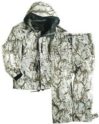 SNOW CAMO Cold Wet Weather Hose Jacke Pants Jacket GEN III Schnee Tarn Anzug L