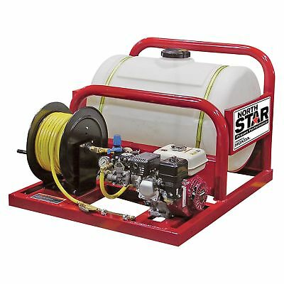 NorthStar Pest Control Skid Sprayer-55-Gal Tank Honda GX160 Engine #268173