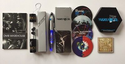 Dave Matthews Band - Lot Of 6 Rare Warehouse Fan Club Items. Pen Coasters Cards
