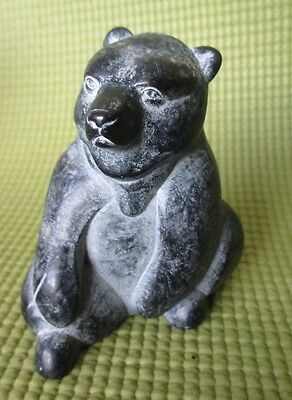 Carved Bear Figurine by BOMA Canada