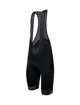 2018 UCI LE CANNIBALE SKULL CYCLING Bib Shorts Made in Italy by Santini