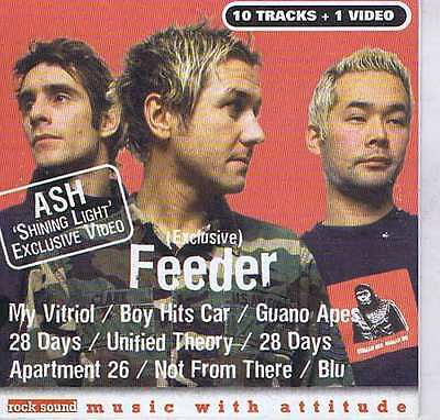 FEEDER / ASH / MY VITRIOL / BOY HITS CAR / GUABO APES + ROCK SOUND CD Vol. 22