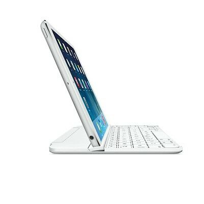 Logitech Ultrathin Magnetic Clip-On Keyboard Cover for iPad mini Silver (CHE Lay