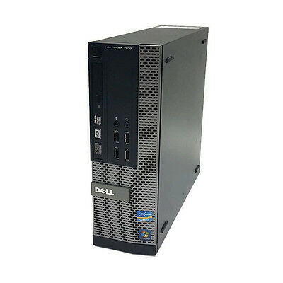 Dell OptiPlex 7010 SFF Desktop Computer i5-3470 3.2Ghz Quad-Core 4GB 500GB DVDRW