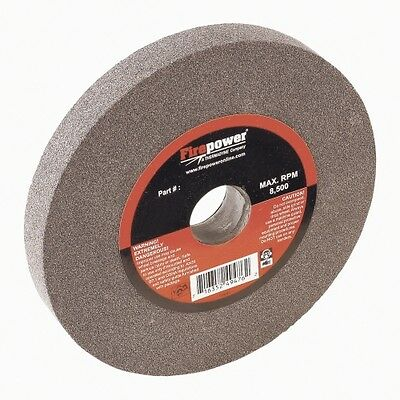 """Type 1 Bench Grinding Wheel, 6"""" x 3/4"""", 60 Grit FPW1423-2310 Brand New!"""
