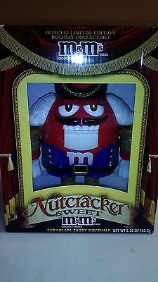 M&ms Nutcracker Candy Dispensers Collectibles Brand New In Box