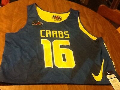 Baltimore crabs lacrosse youth jersey nike nwt youth m reversible