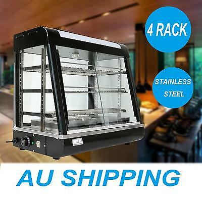 Commercial Hot Food Warmer Display Cabinet Warming Showcase 1850W 30°C-110°C