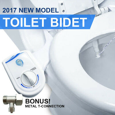 Hygiene Clean Water Wash Easy Setup Unisex Toilet Bidet / Seat Attachment