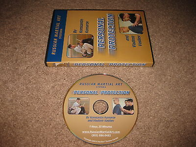 Personal Protection - Vladimir Vasiliev - Russian Martial Art Systema - DVD
