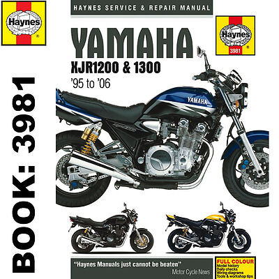 Yamaha XJR1200 XJR1300 1995-2006 Haynes Workshop Manual