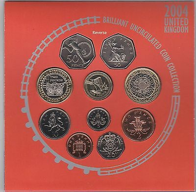 Sealed 2004 Brilliant Uncirculated Set Of 10 Coins
