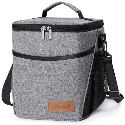 797632272520 9L PORTABLE INSULATED Lunch Bag Box For Work Office School Adult Men Women  Kids