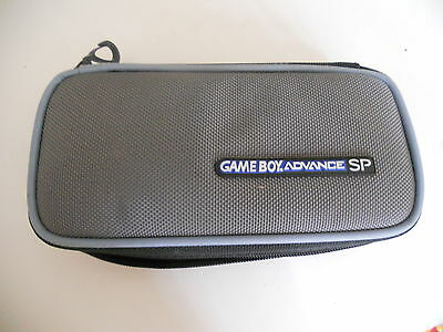 OFFICIAL BLUE GREY GAMEBOY ADVANCE GBA SP Protective case for console
