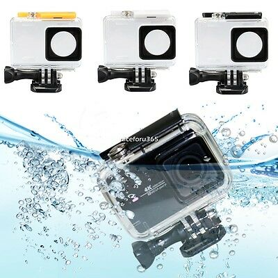 40M Fit For Xiaomi Yi Action Camera Waterproof Cover Case Protective Diving NEW