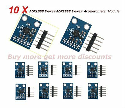 1~10pcs ADXL335 3-axes Analog Output Accelerometer Module Transducer for Arduino