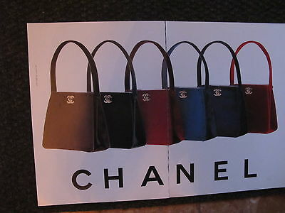 Chanel Bags 6 Colors,boots Print Ads,clippings 2 Side
