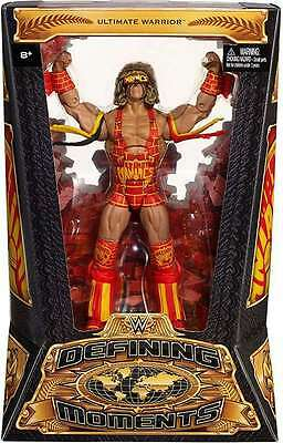 Wwe Wwf Mattel Defining Moments Ultimate Warrior Action Figure New Boxed!