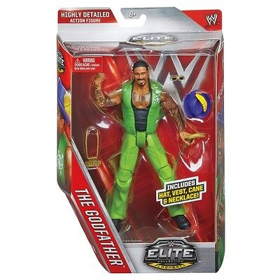Wwe Wwf Mattel Elite Collection 39 The Godfather Action Figure New Boxed!!!!!