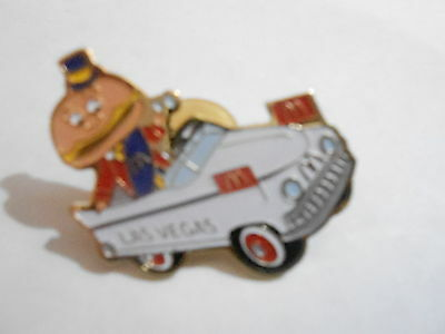 NOS McDonalds Advertising Enamel Pin #32 LAS VEGAS - HAMBURGLER