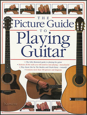 The Picture Guide to Playing Guitar Book 1 Learn to Play Method Chord Songbook