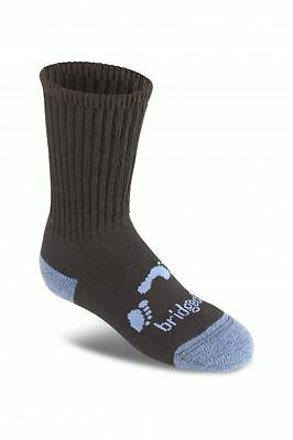 Bridgedale WoolFusion Trekker Junior Black Socks Med 12 - 1