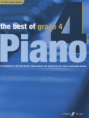 The Best of Grade 4 Piano Sheet Music Book