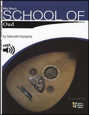 School of Oud Learn How to Play Beginners Method Music Book & Free Audio Online