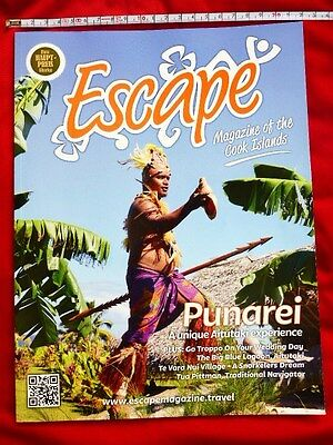 ESCAPE Magazine Cook Islands 99 Seiten / Introduction Cook Inseln Südsee / Guide