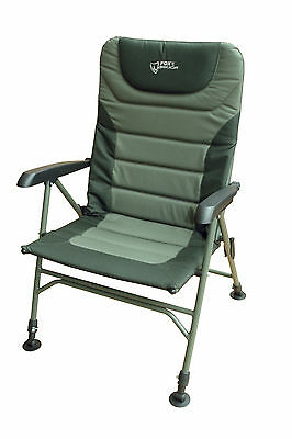 Fox Warrior XL Arm Chair CBC043 Karpfenstuhl Stuhl Chair Angelstuhl Carp Chair
