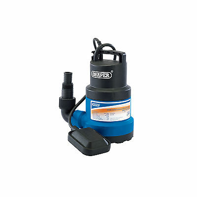 Draper Submersible Water Pump with Float Switch (191L/Min) Garden Pond Drainage