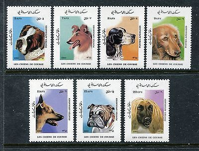 Afghanistan 1210-1216, MNH, Dogs 1986. x23762